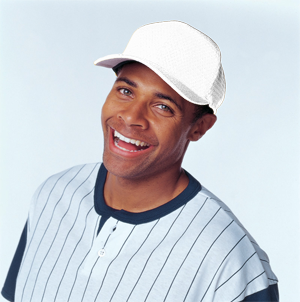 Flexfit® Adult 6-Panel Athletic Mesh Cap